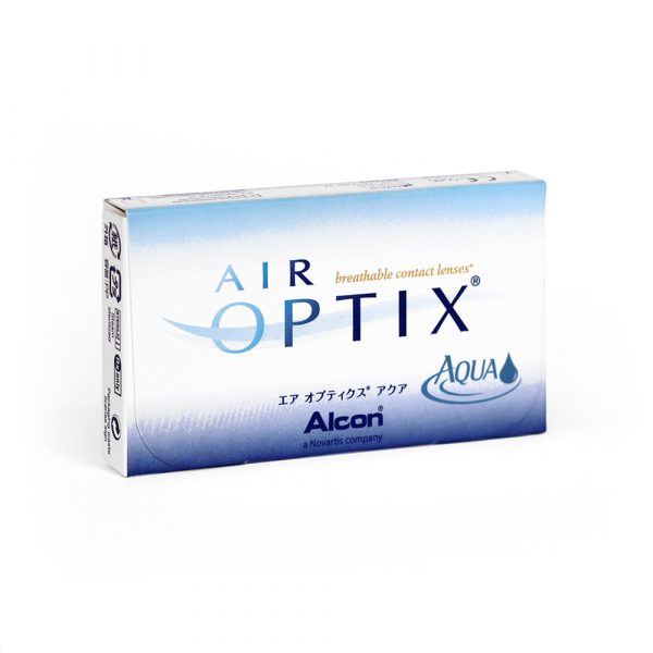 Air Optix Aqua Monthly Contact Lenses
