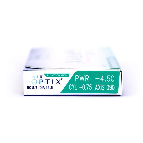 Air Optix for Astigmatism Lentilles de Contact