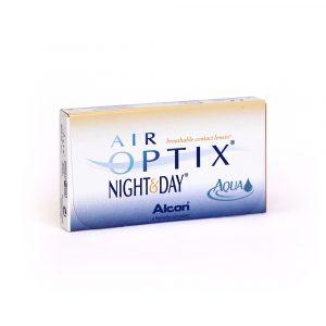 Air Optix Night & Day Aqua 3 Lentilles de Contact