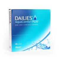Dailies Aqua Comfort Plus 90 daily disposable contact lenses