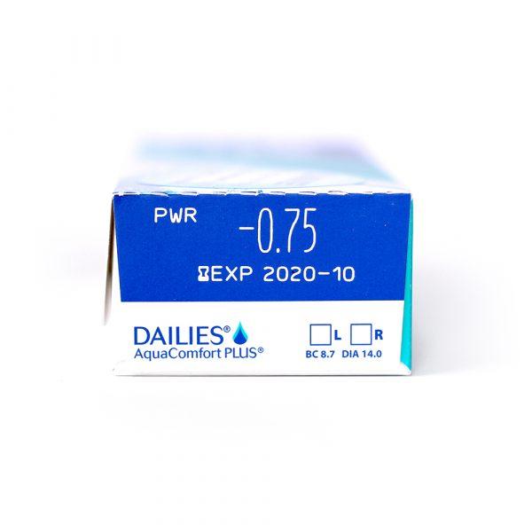 Dailies Aquacomfort Plus Lentilles de Contact