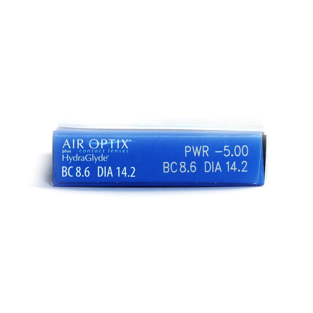 Air Optix Plus Hydraglyde 6 Lenses Air Optix Hglyde 6 Pack