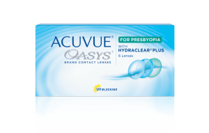 Acuvue Oasys for Presbyopia - 6 Lentilles de contact